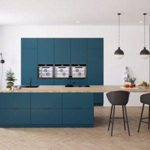 Teal Green - Basic - Keukendeurtjes en ladefrontjes - i.c.m. Metod